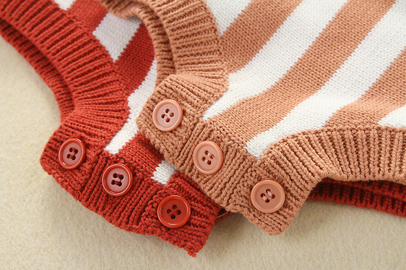 Pasgeboren Baby Gebreide Romper Jongens Meisjes Babykleding Lente - Babykleding - Foto 6