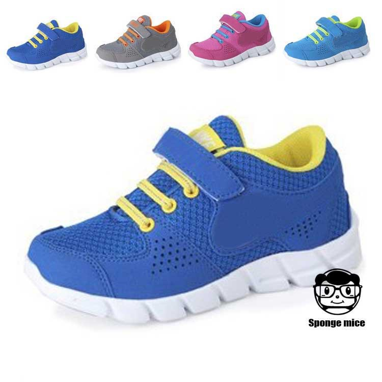 ФОТО Fashion Sneaker Children 's Shoes Sports 2017 Boys Girls Outdoor Sport Shoes Casual
