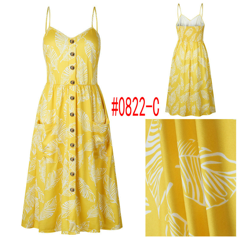HTB1AQtrbBGw3KVjSZFwq6zQ2FXa0 Summer Women Dress 2019 Vintage Sexy Bohemian Floral Tunic Beach Dress Sundress Pocket Red White Dress Striped Female Brand Ali9