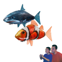 Disney Remote Control Toys Large remotel flying fish Nemo clownfish shark new remote control flying fish model Toy for children