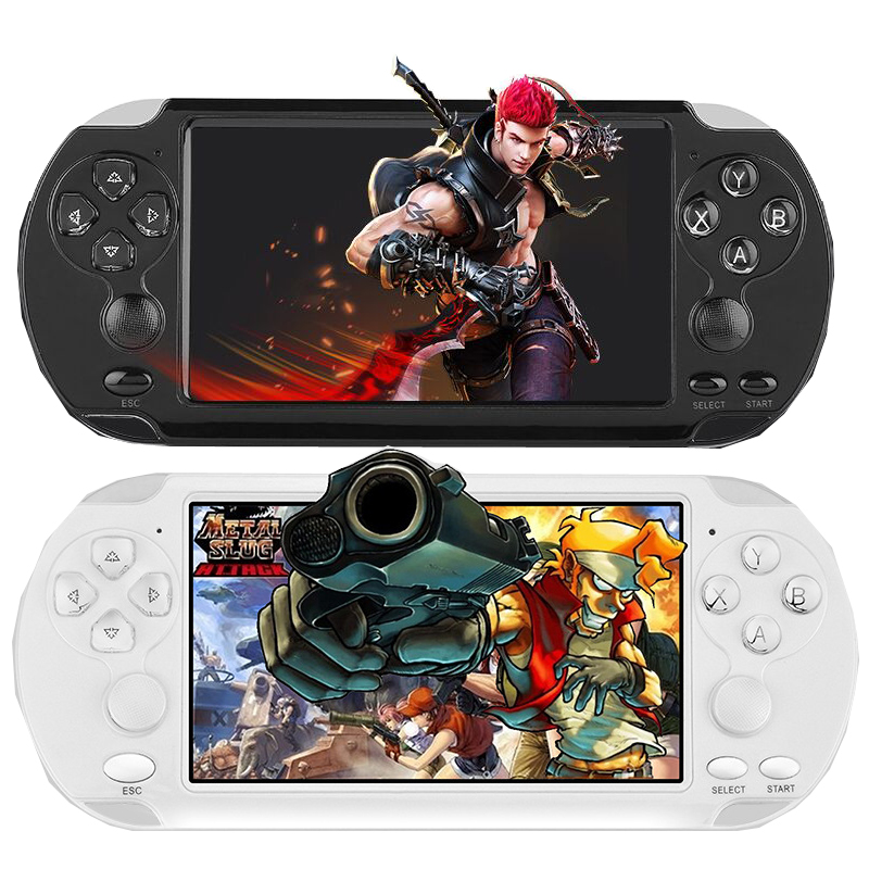 New X9-S 8GB 5.0 Inch Large Screen Handheld Game Player Support TV Out Put MP3 Movie Camera Multimedia Video Game Console