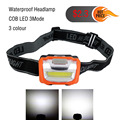 Mini 3 Modes Waterproof 400Lm LED Flashlight outdoors Headlight Headlamp head light lamp Torch Lanterna with Headband