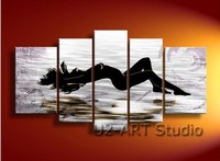 Large paintings wall decoration woman nude art oil painting canvas without frame gGP106