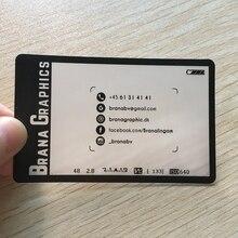 Шт./один бизнес-карта заводская пластиковых визитная карточка печать ясно пвх прозрачный дизайн