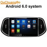 Ouchuangbo аудио dvd стерео радиоприемник для Kia KX3 с USB gps AUX BT 1024*600 Cortex A9 ОС android 6,0