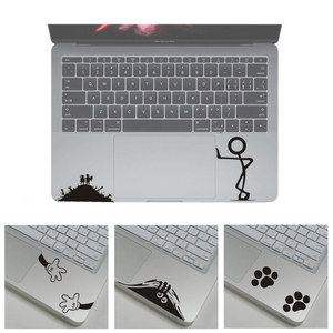Cute Laptop Stickers for MacBook Air 11 13 Retina Pro 13 15 Tablet PC Notebook Skin Decal for HP/Dell/Asus Partial Sticker