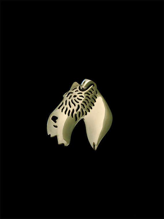 New2016 Classico Pelo Animale Wire Fox Terrier Broche Oro Argento Colore Spilla Progettista Per Gli Uomini Overwatch Regalo Per L'amico Padre