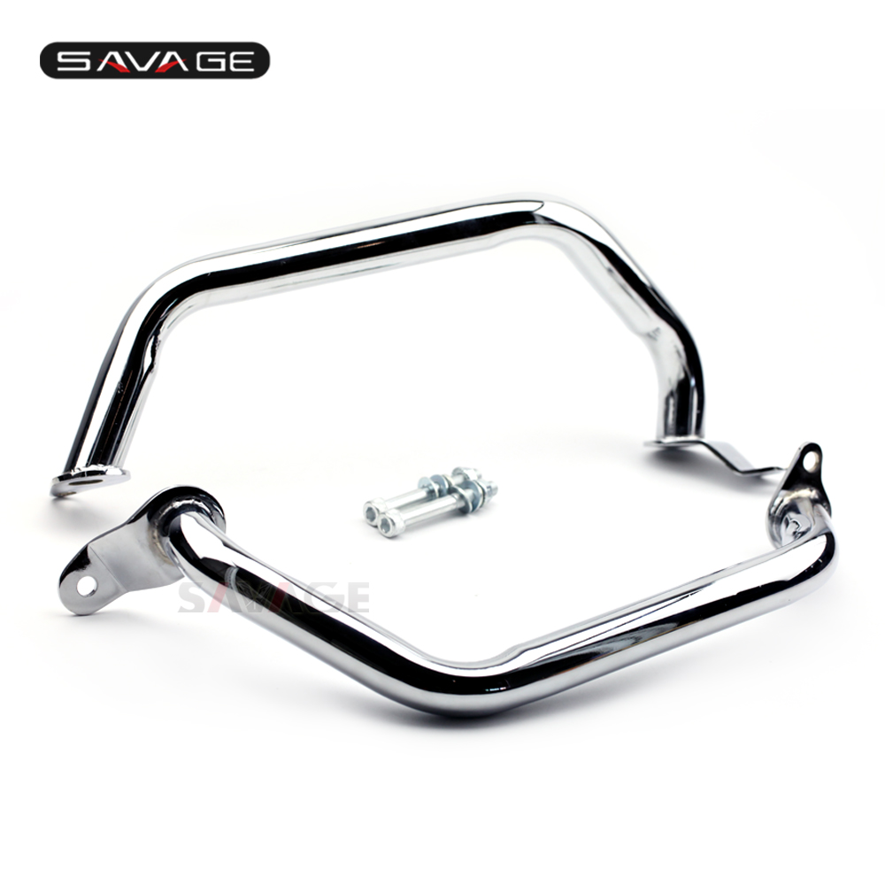 Frame Engine Crash Bar Protector Guard For SUZUKI Boulevard M109R 2006 2017 Motorcycle Accessories