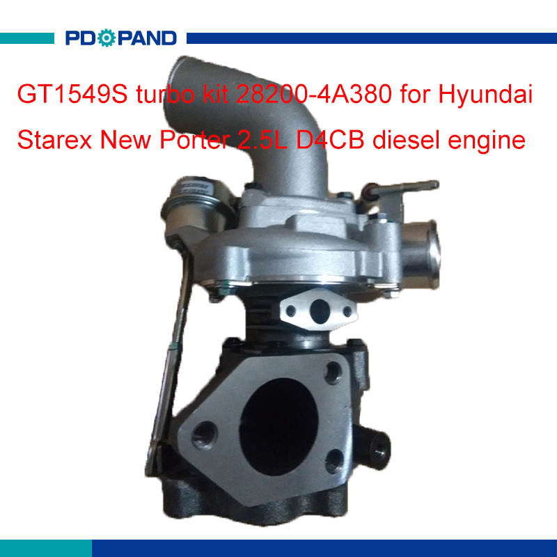 Porter Hyundai Service >> Motor turbo charger kit GT1549S supercharger compressor 28200 4A380 for Hyundai Starex New ...