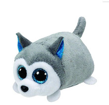 10CM Mini Original Ty Plush Toys Beanie Boos Big Eyes Husky TSUM Doll TY Baby Kids Gift