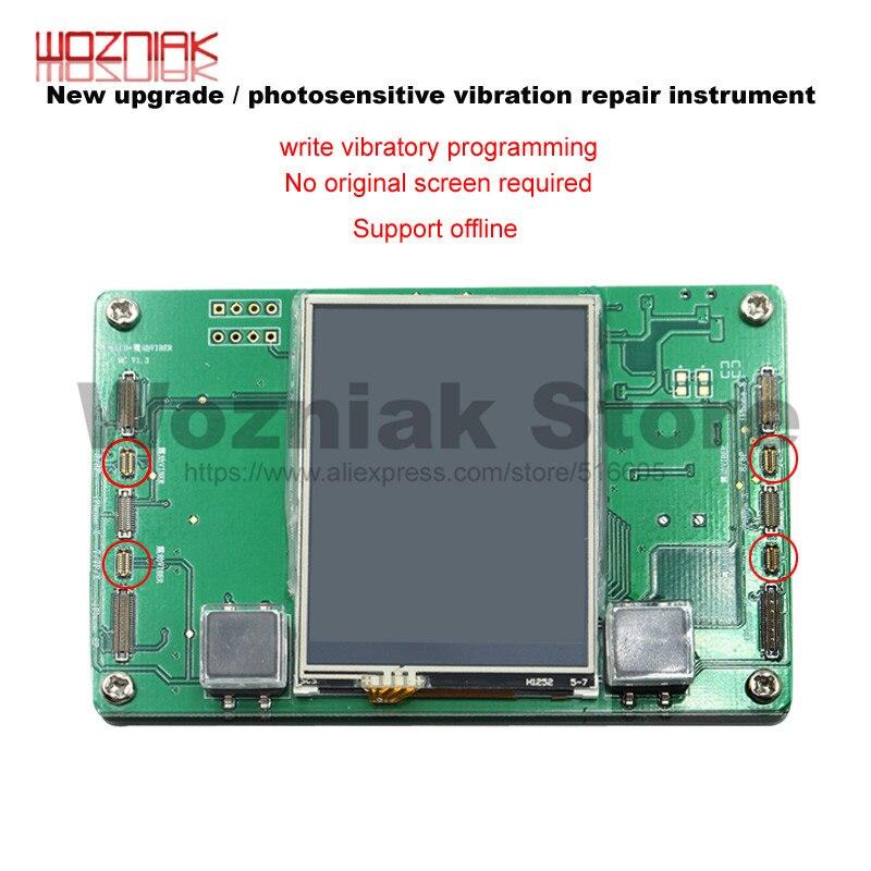 Wozniak Tela LCD Fotossensível de Backup de Dados Ler e Escrever EEPROM Programador para ferramenta de Reparo do iPhone 8 8plus X fotossensível
