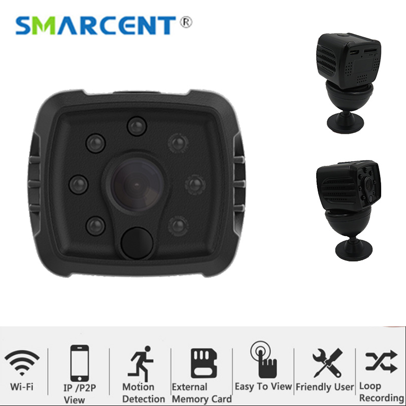 mini Full HD camera WIFI 1080P nigth vision action camera micro SD TF invisible micro camera