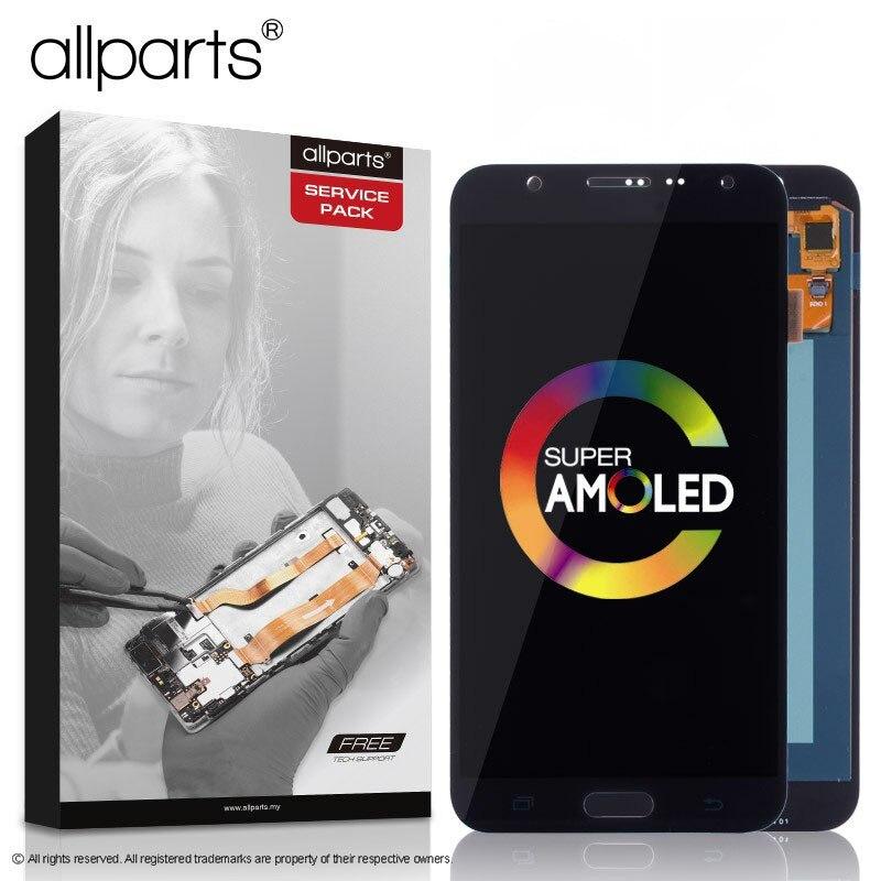Super AMOLED D'origine lcd pour SAMSUNG Galaxy J7 2015 Affichage Pour SAMSUNG Galaxy J7 2015 J700 J700F J700M J700H écran tactile