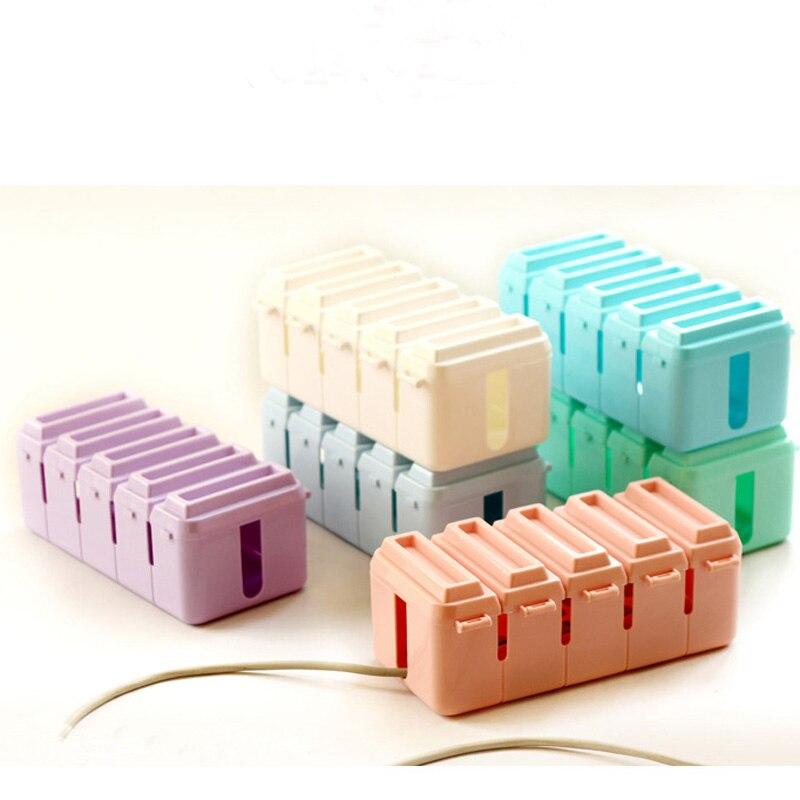 Prise de fil électrique 700mm boîte de rangement câble en plastique boîte de rangement de fil électrique boîte de jonction