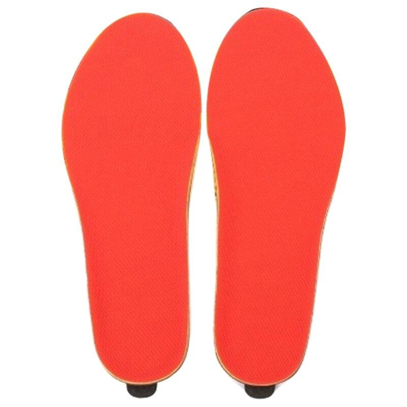 FGGS Electric Heated Shoe Insoles Foot Warmer Heater Feet Battery Warm Socks Ski Boot