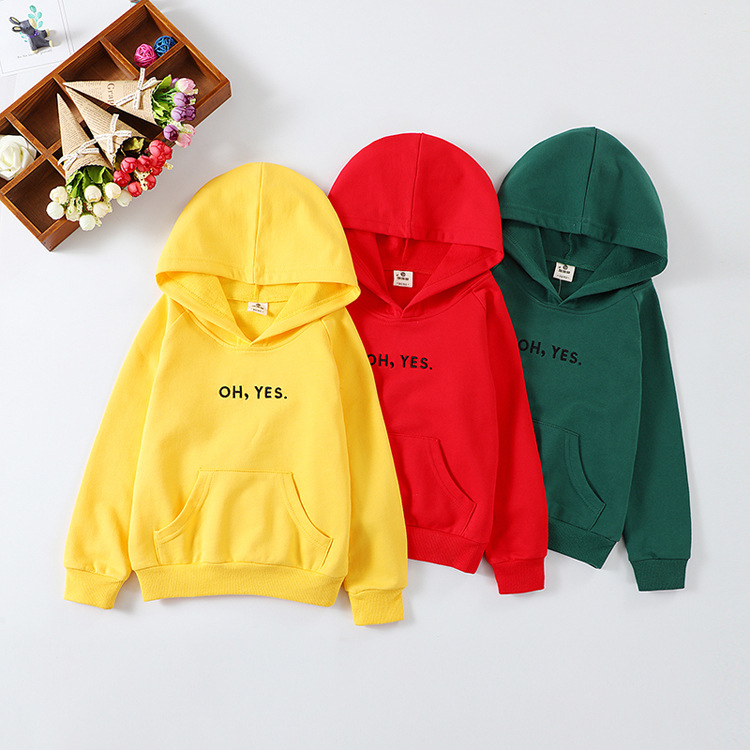 2020 New Kids Boys Girls Hoodie Sweater Long Sleeve Warm Clothes In Spring And Autumn 100% Cotton Hoodies  Kids Sweatshirt