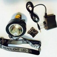 Mais Populares nos EUA!!! LED 5000Lm Mineral Lamp Torch Trabalho Mineiro Capacete Lâmpada Head Lamp Mineração KL2.8LM