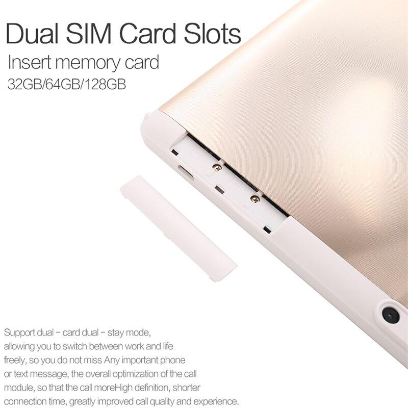 Android планшет для детей 10 дюймов 2.5D экран из закаленного стекла Восьмиядерный телефон SIM карта wifi gps ram 4 Гб rom 32 Гб планшетный ПК Android 8,0 - 5
