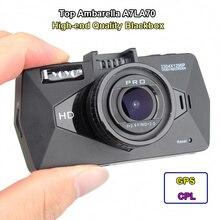 Eyoyo A7810 Автомобильный Черный Ящик, А также Мини 0806 Ambarella A7LA70 Super HD 1296 P DVR Carcam Опционально GPS Logger CPL фильтр