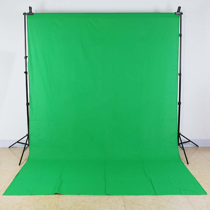 Photo Studio 2*2M Background Aluminum Frame Support with 3*2M Muslin Backdrop Cotton Chromakey for Image matting Clamps for gift