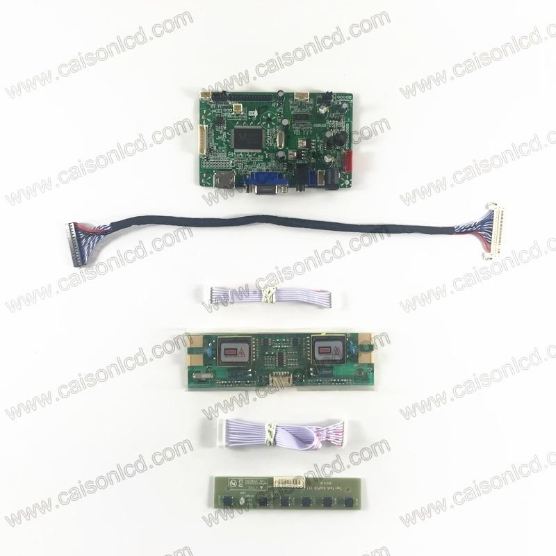 LCD controller board with HDMI VGA Audio for 4-lamp 17 inch 1280X1024 LCD panel MT170EN01 V.0 M170E5-L03 M170EG01 V2 LT170E4-L01 lp116wh2 m116nwr1 ltn116at02 n116bge lb1 b116xw03 v 0 n116bge l41 n116bge lb1 ltn116at04 claa116wa03a b116xw01slim lcd