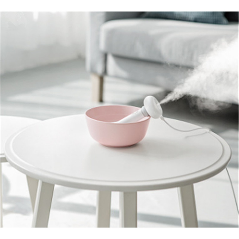 Dismountable Air Humidifier Portable USB Diffuser Car Mist Maker Ultrasonic Humidifiers Diffusers White for Home Office