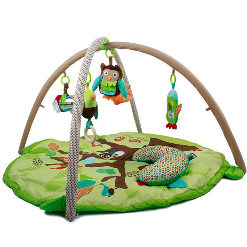 Купить с кэшбэком Kids Rug 90*55cm Baby Play Mat Soft Musical Mat Activity Gym Play Gym Kids Toys Soft Baby Toys Play Mat Baby Gym Developing Rug