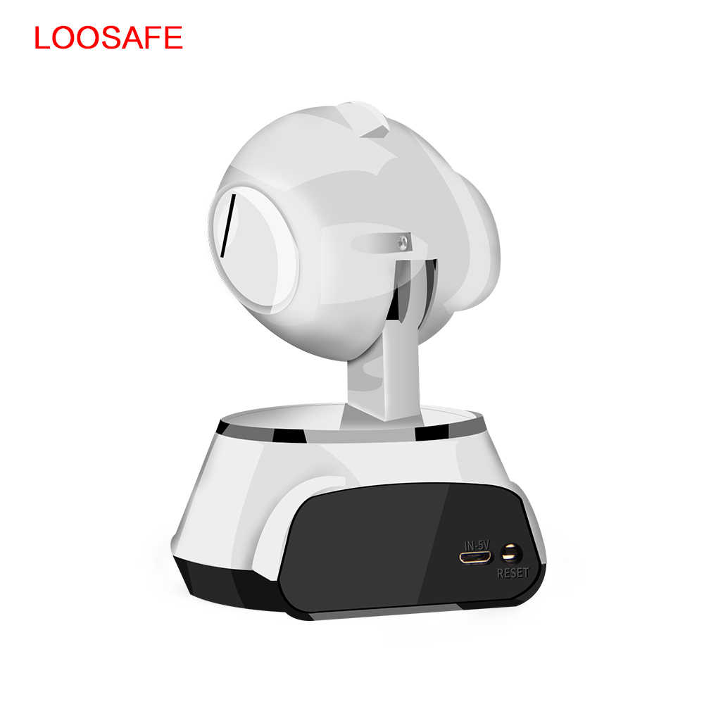 LOOSAFE, Wifi, IP камера для безопасности, детский монитор, Wifi, беспроводная, с фильтром IR-Cut, ночное видение, домашняя камера видеонаблюдения, CCTV камера, сеть, PTZ IP камера