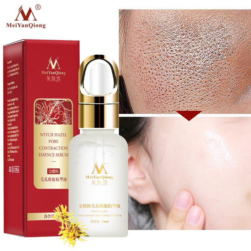 Гамамелиса пор сокращение эссенция эффективно очищает поры Exfoliator отбеливает кожу восполняет влажности кожи сокращает поры