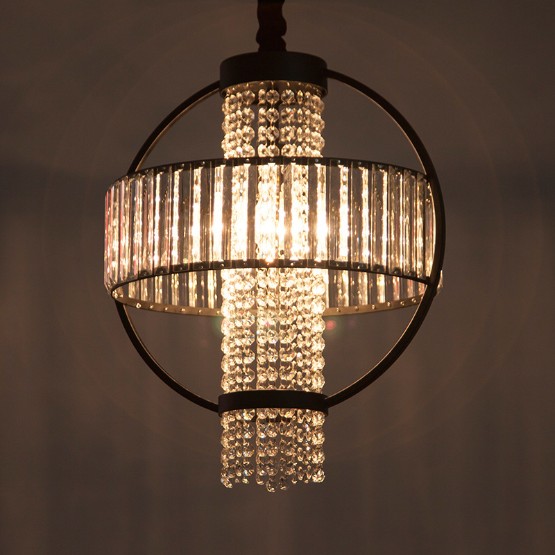 Aliexpress.com : Buy Crystal+iron Pendant Light Luxury