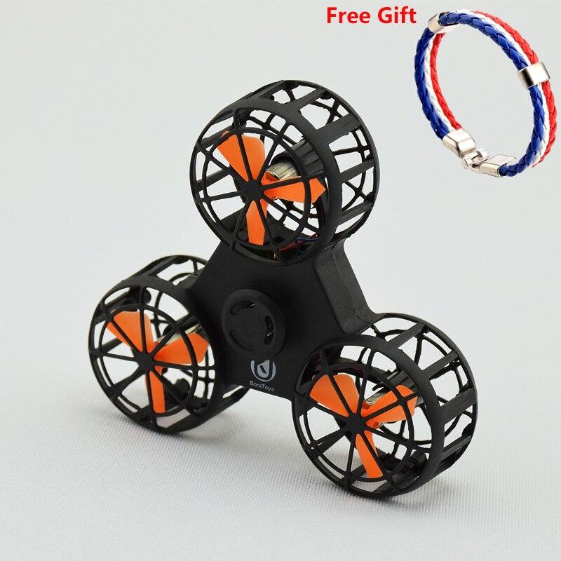 Mini Fidget Main Spinner Volant Fidget Spinner Volant Jouet De Toupie Pour L'autisme D'anxiété Stress Jouet Grand Cadeau drôle