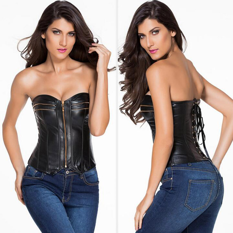 ecc57b8949c New Black Body Sculpting Corset Waist Trainer Hot Shaper Bustiers  Stereotypes Seamless Body Clothing Sexy Lingerie Corset-in Tops from  Underwear ...