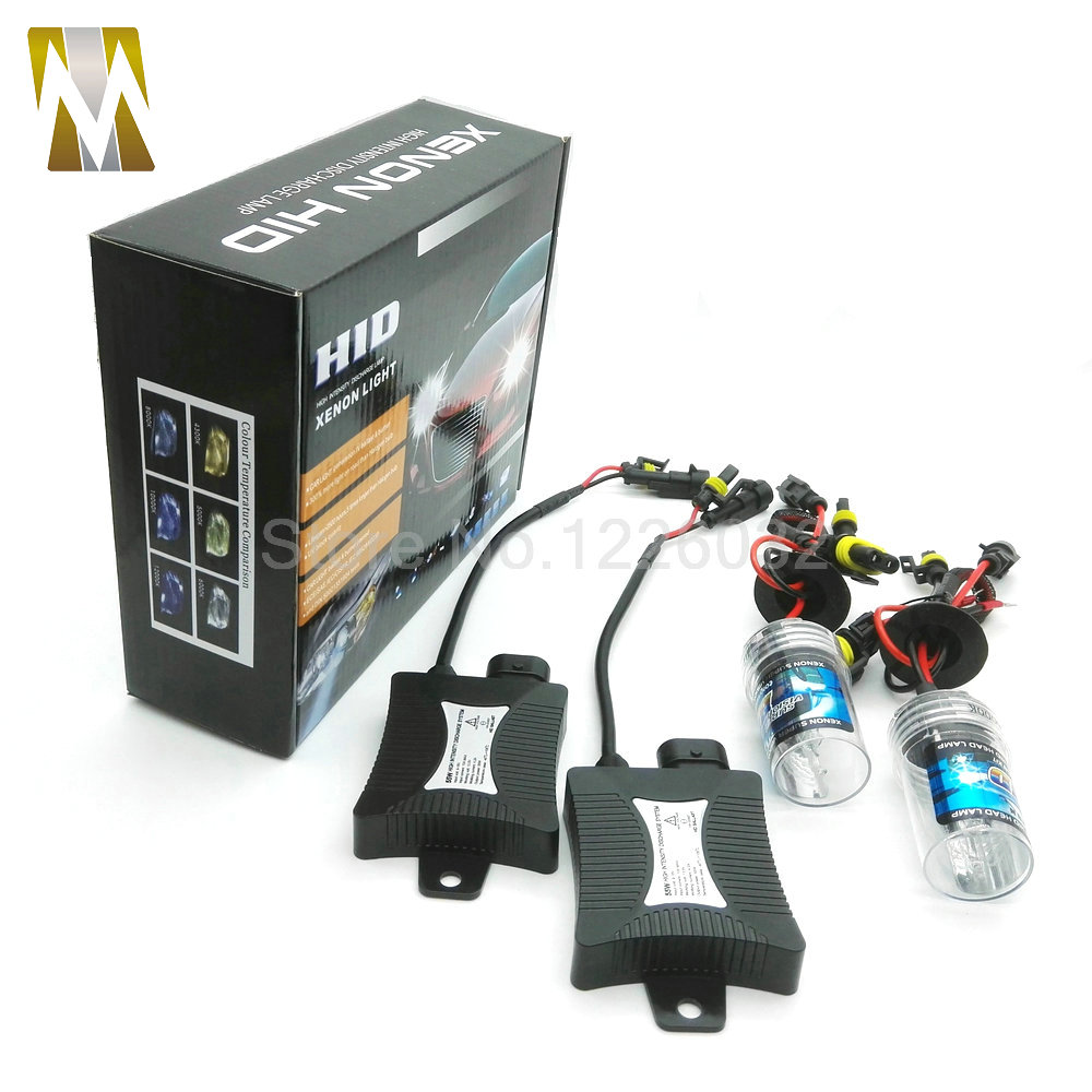 55W Xenon Ballast Bulb HID KIT Light Car Headlight Fog DRL Lamp H1 H3 H7 H8 H9 H11 880 881 9005 HB3 9006 HB4 6000k canbus error free ac hid xenon conversion kit emc ballast headlights fog lights h1 h3 h7 9005 hb3 9006 hb4 d2s hb4 h11 d2h
