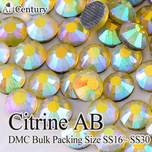 ArtCentury Packing 50 Gross SS30 Glass Material Citrine AB 14defb1ef71f