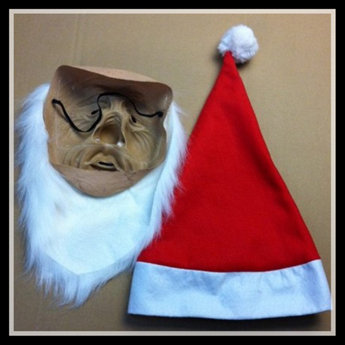 Besplatna dostava Novi Halloween Party Cosplay Maska za lice Djed - Za blagdane i zabave - Foto 4