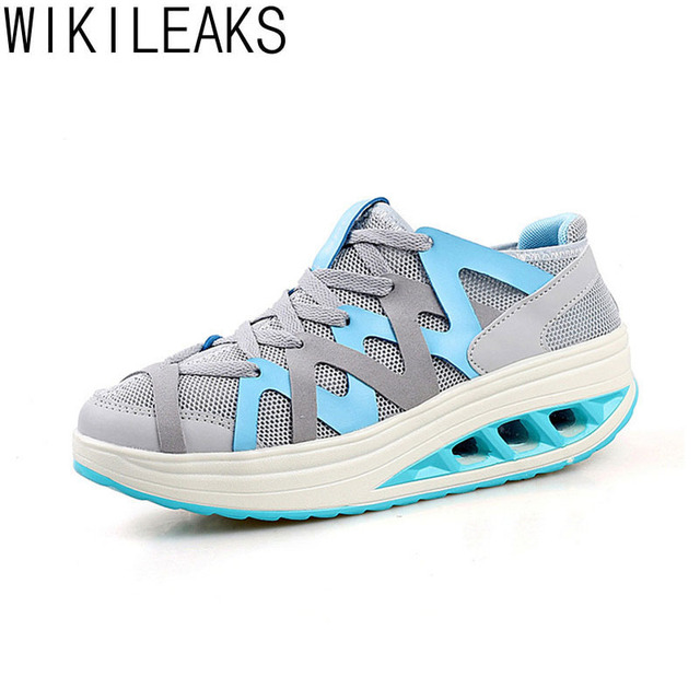 2016 Women Casual Shoes Flower Breathable Fashion Leisure Canvas Comfortable Summer Female Height Increasing Lightweight Shoes