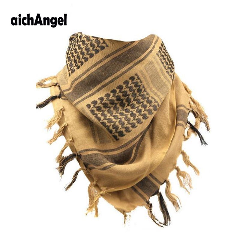 Aichangei Scarf Man Army Shawl Combat-Print Arab Desert Keffiyeh Bicycle Military Tactical
