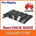 Free Shipping Original Brand new unlocked Huawei E180 modem PK E182e/E1820 HSUPA/HSDPA Modem 7.2/5.76Mbps 3G