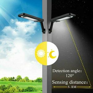 Image 5 - 60LED 1000LM Solar Dimmable Wall Light PIR Motion Sensor Garden Outdoor Lamp