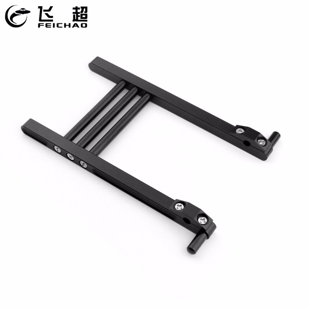 Feichao  CNC Aluminum Alloy TX Transmitter Bracket Stand Holder for JR / Futaba DX6 FF9 9X Remote Controller RC Drone Helicopter(China)