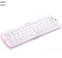 KB208 Universal Bluetooth 3 0 Wireless Mini Folding Keyboard 66 Keys For IOS Mobile Phone Android