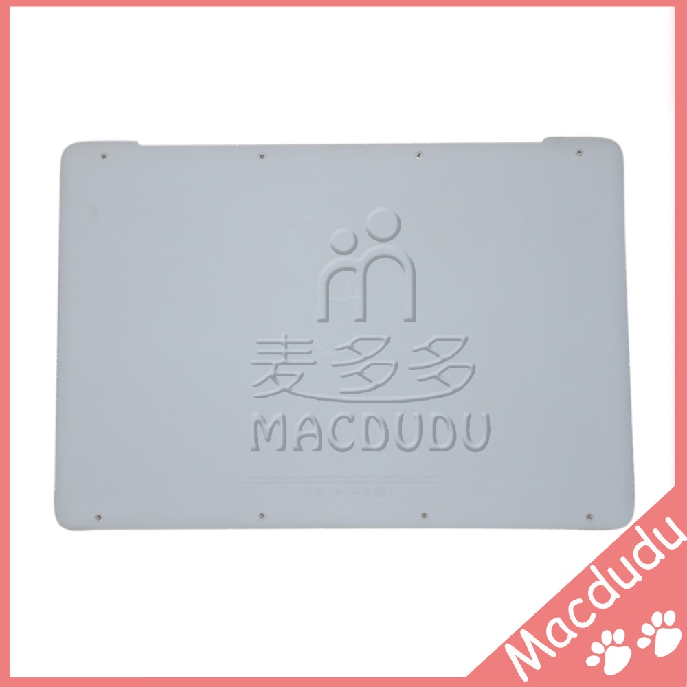 New Lower Case Bottom Cover for MacBook A1342 13 MC207 MC516 604-1033 Free shipping 98% 99% new a1342 white lower bottom case cover for apple macbook a1342 13 unibody bottom 604 1033 2009 2010 mc207 mc516 ll a