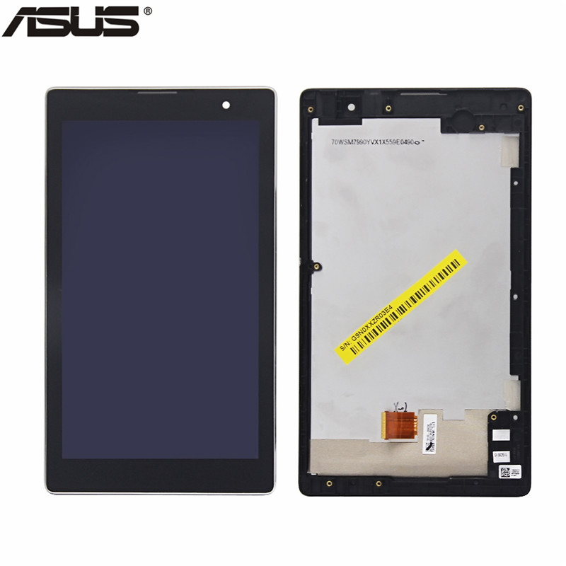 Asus Original LCD Display Touch Screen Assembly Replacement Part For Asus ZenPad C 7.0 Z170 Z170CG LCD screen For Asus Z170CG z170 high quality soft tpu rubber cover semi transparent back case for asus zenpad c 7 0 z170 z170c z170mg z170cg silicone cover