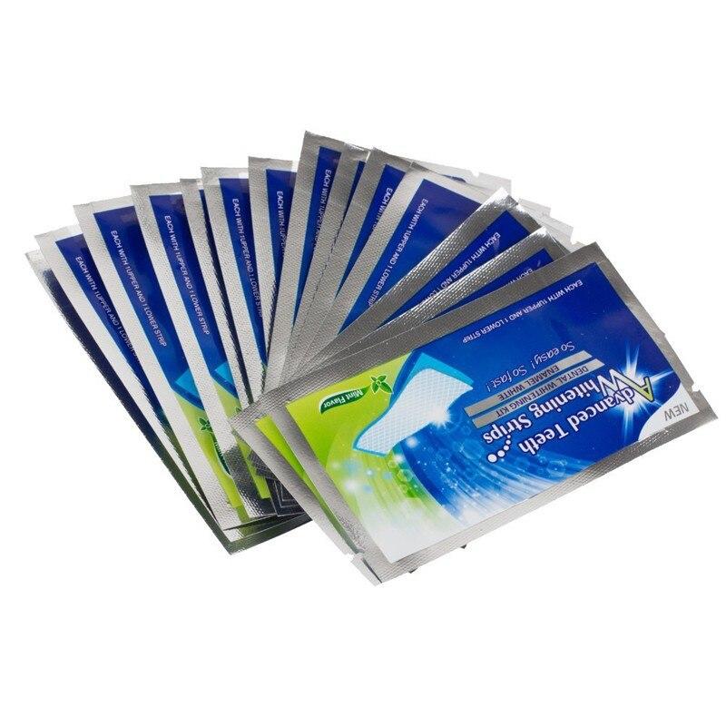 இ28 Unidades Pacote De Higiene Oral Dentes Branqueamento Tiras De