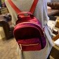 RU&BR New Preppy Fashion Style Backpaks Casual Bags For Teenagers Girl's Bag Women Velvet Backpacks Girls Zipper Shoulders Bags