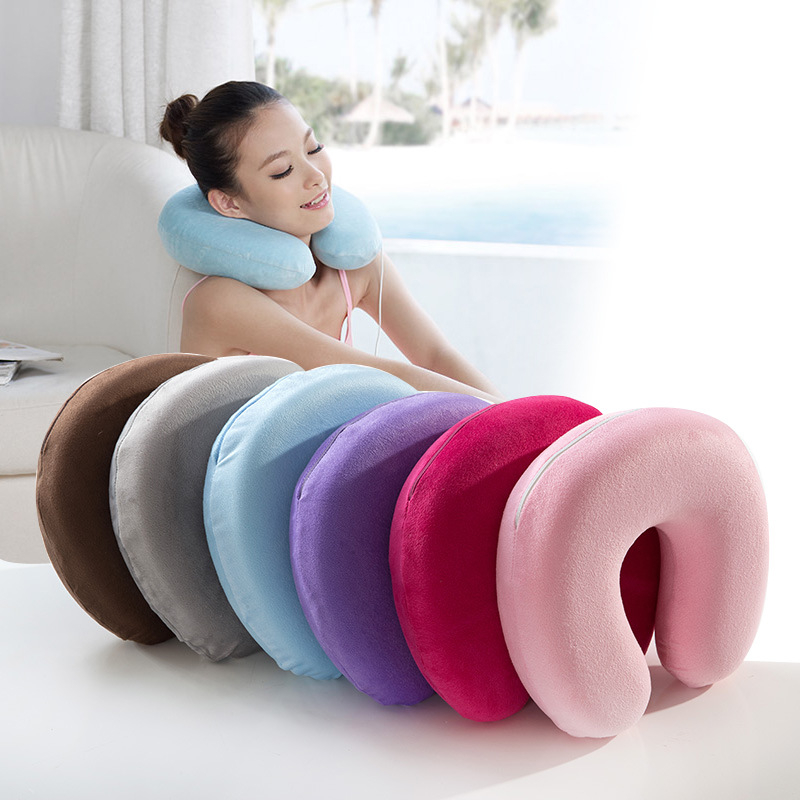 U Shaped pillow Memory Foam Pillow Neck U Shape Headrest