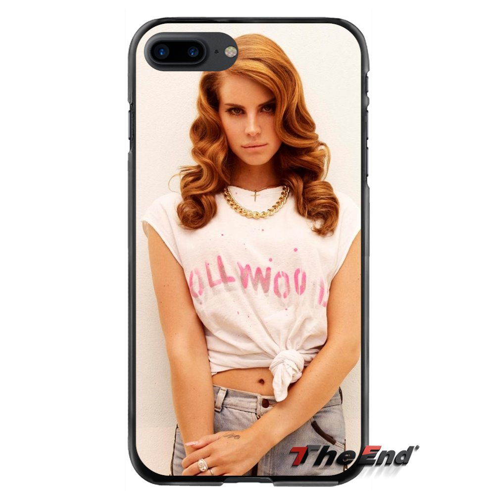 Accessories Phone Cases Covers Music Lana del rey For Apple iPhone 4 4S 5 5S 5C SE 6 6S 7 8 Plus X iPod Touch 4 5 6