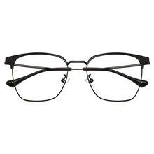 c8f1bf1288 Cuadrado gafas de moda de los hombres gran marco óptico de prescripción  gafas marco Retro mujeres grande 140-46-52