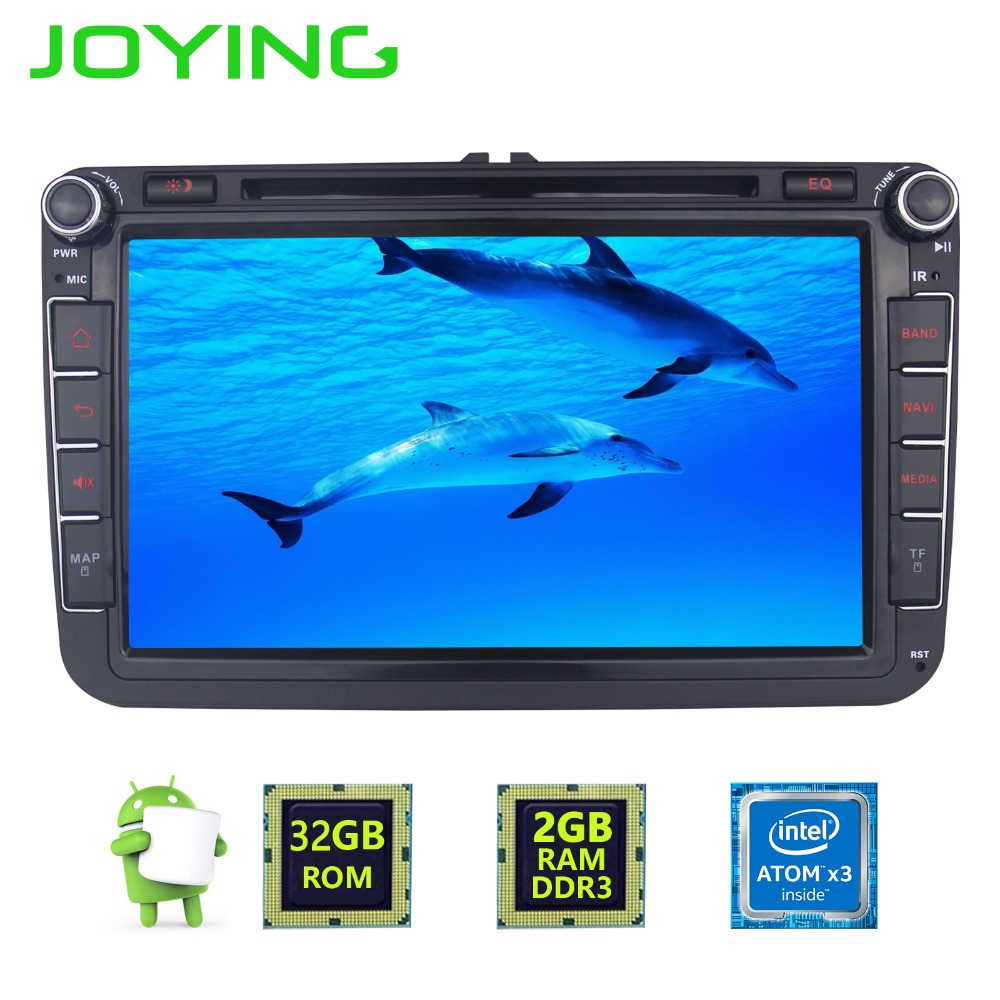 2 Din Android 6 0 Car font b Radio b font Stereo Recorder For VW Skoda