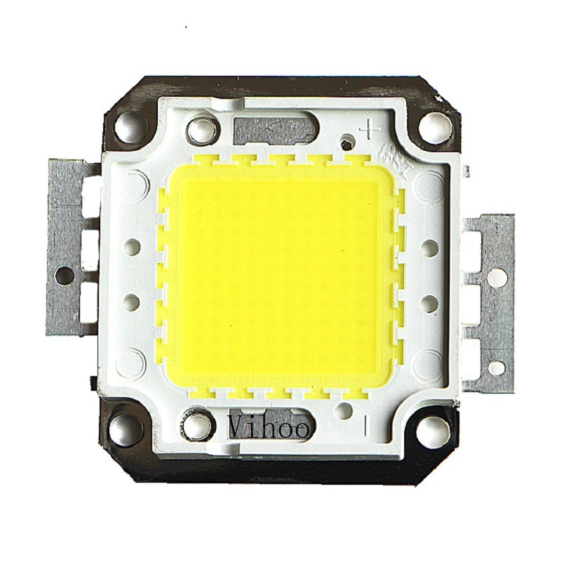Lampada 1W 10W 20W 30W 50W 100W Led Chip Integrated Leds Spotlight DIY Street Flood Light COB Full Watt Chips Warm Cool White